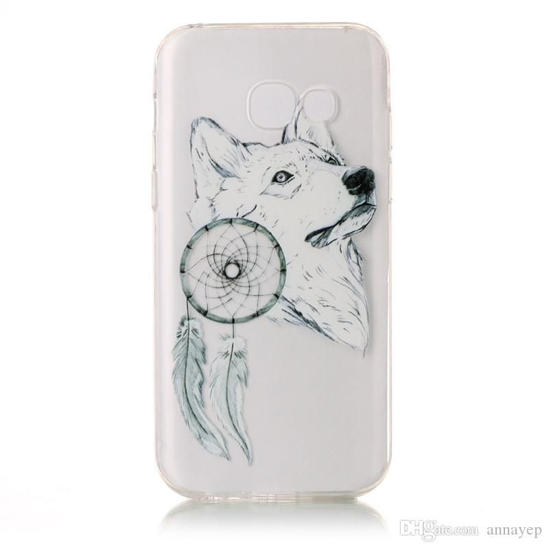 Soft Clear Case For LG G6 V20 Nokia Lumia 6 Huawei P10 Nova Mate 9 P8 Lite 2017 TPU IMD Gel Rubber Soft Back Phone Cover Cellphone Cases