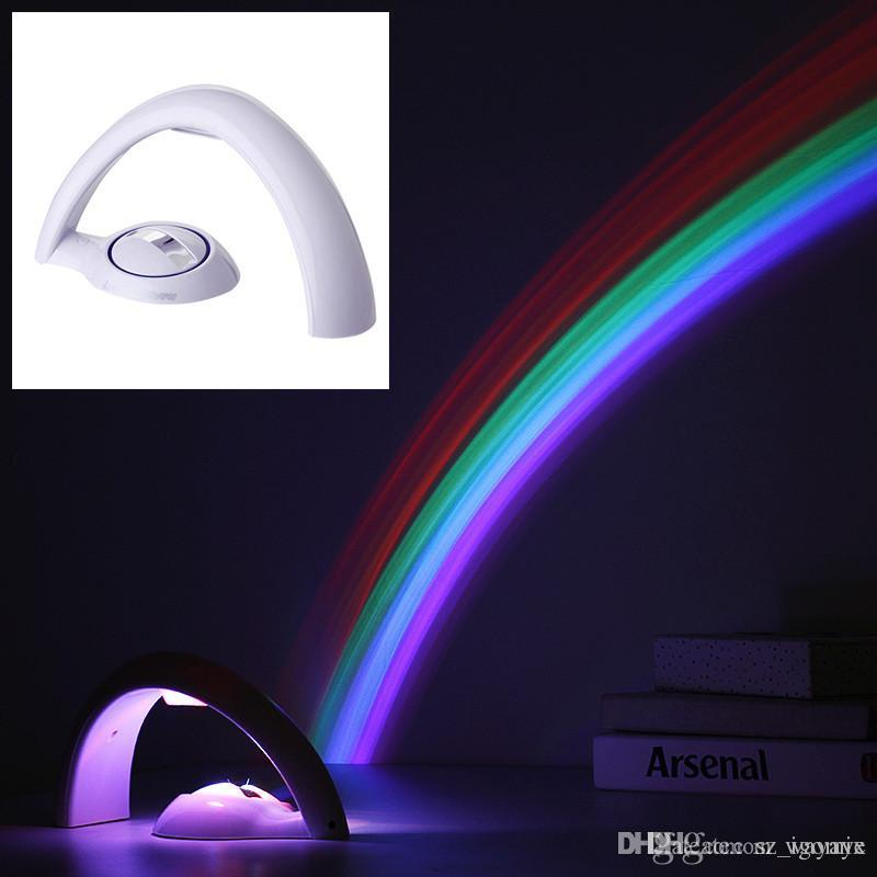 Discount 2017 New Arrival Lucky Rainbow Light Amazing Rainbow Projector 3d  Led Lamp Baby Room Night Light Projector Home Decoration From China |  Dhgate.Com