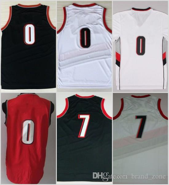 new products f513c 495f5 reduced damian lillard rip city jersey for sale e9b1a 5dfc2