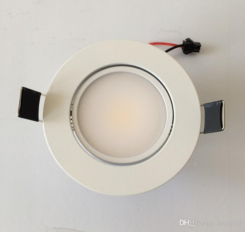AC110-240V 9W COB Recessed Dimmable Led White Downlight Ceiling Lamp Spot Light Led Indoor Home Down Light Lighting CE&ROHS UL