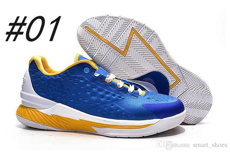 2017 New Low Stephen Curry 1 One Basketball Shoes For Men ...