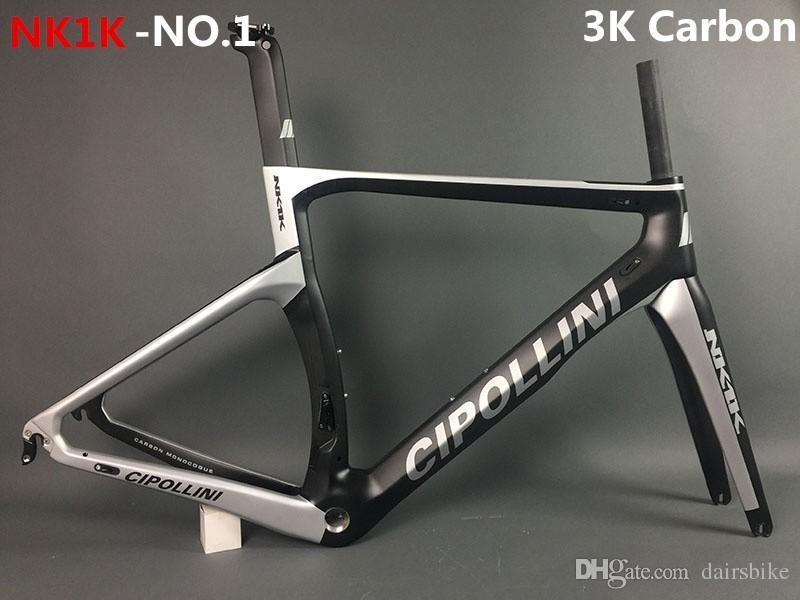 Newest MCipollini T1000 1K or 3k frame Full Carbon Road Bike Frame,fork,headset,seatpost bicycle frameset