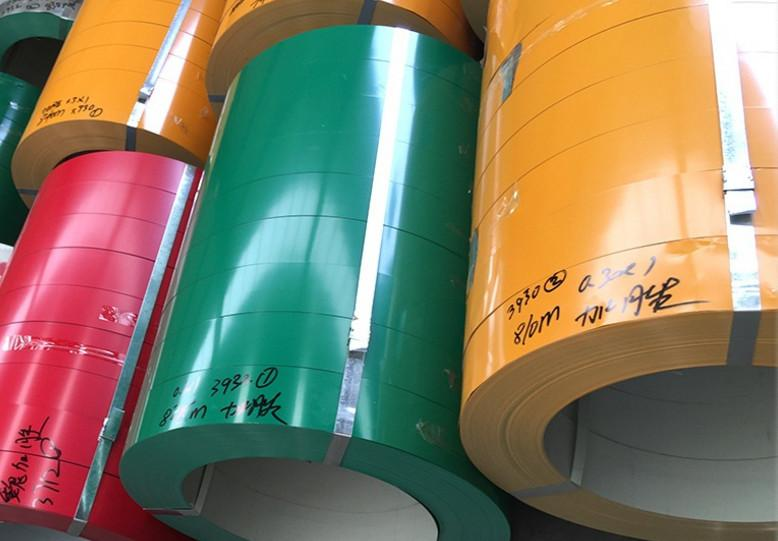 1 тонн нестандартного размера с цветным покрытием алюминиевая катушка полиэстер фторуглерод алюминиевый цвет с покрытием алюминий / сталь рулон в бесплатную доставку