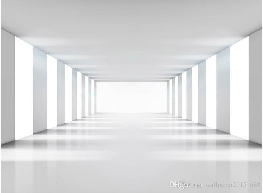 Wandpapier der modernen unbedeutenden Vektorraumerweiterungshintergrundwand 3d Tapete 3d für Fernsehhintergrund