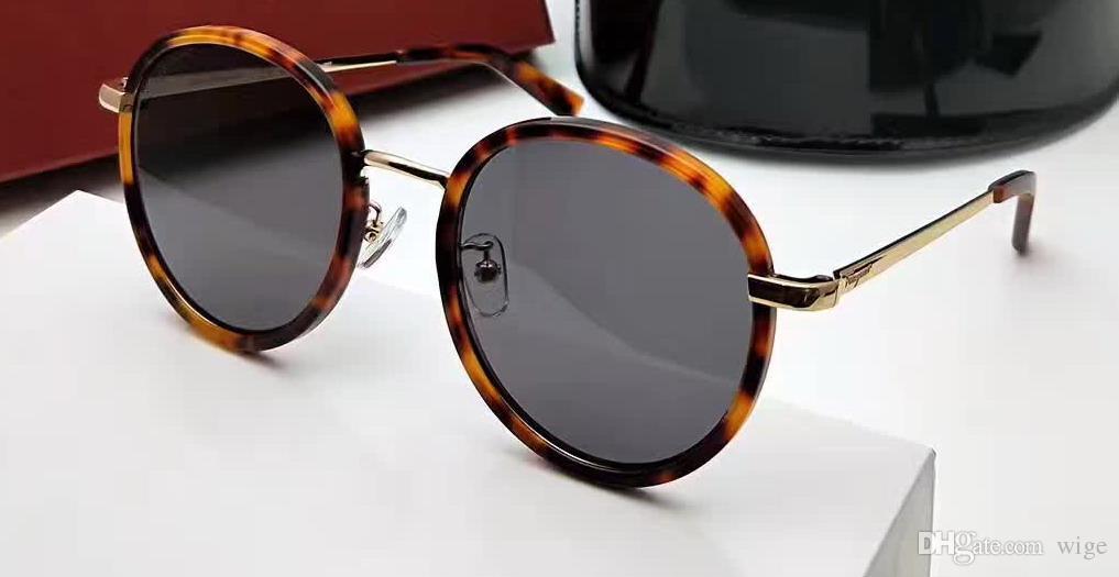 969cec5b67e Mens Black Vintage Oval Sunglasses SF 159SK Women Designer Luxury Fashion Sunglasses  Eye Wear Brand New With Case Super Sunglasses Victoria Beckham ...