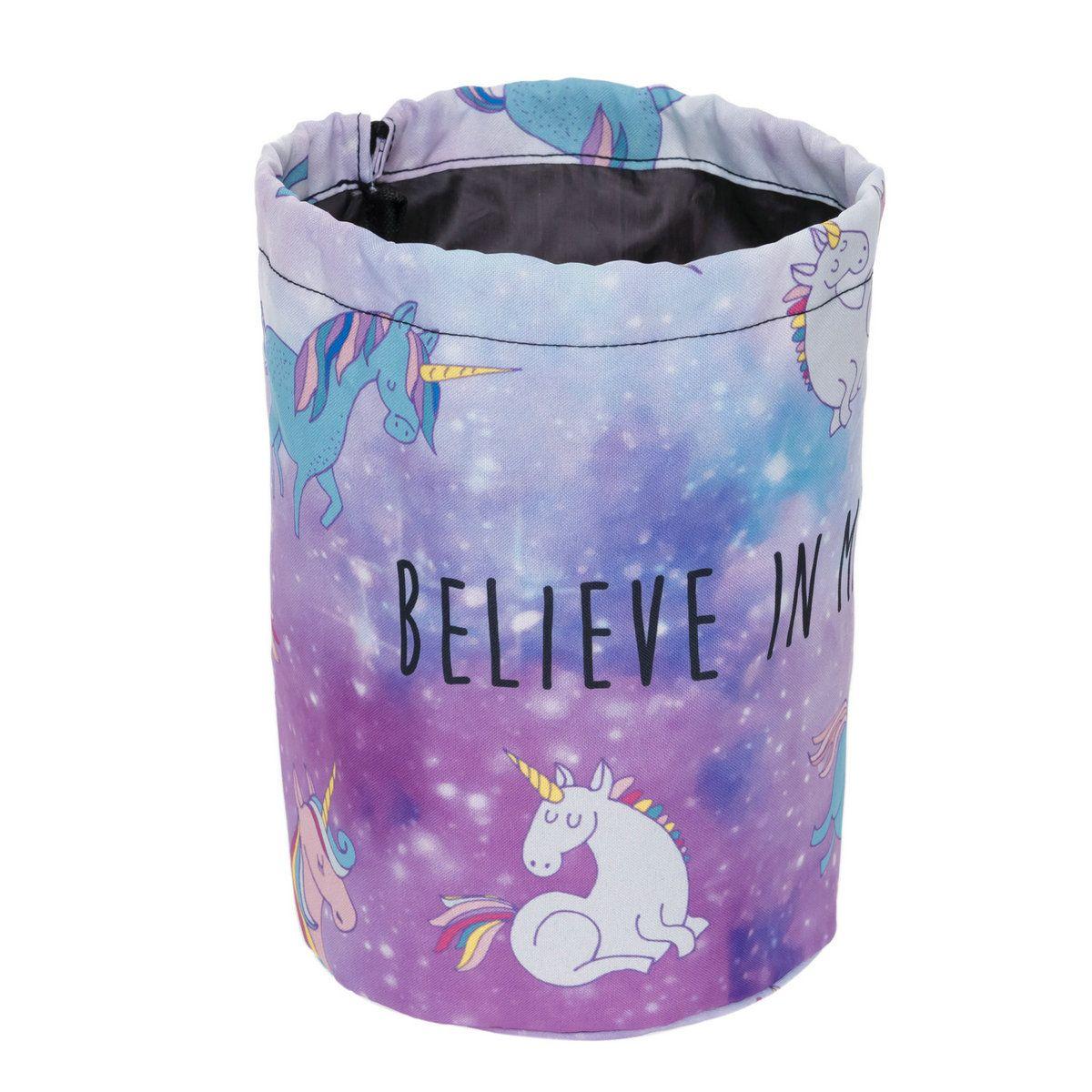 Barrel bucket Shaped Travel Cosmetic storage Bag Nylon Drum washable Makeup Organizer Drawstring Wash Bag Travel Makeup Storage