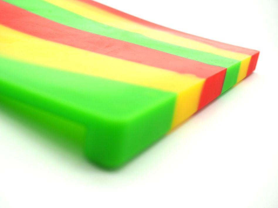 Einzigartiges Design Hitzebeständigkeit Silikonmatte Anti Slip Wachsöl extrahiert benutzerdefinierte Backmatte Silikon Tupfmatte Mehrzweck