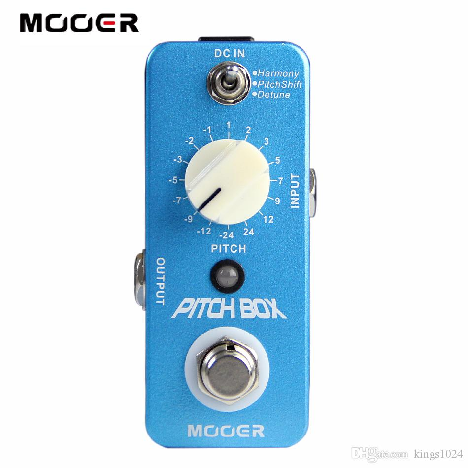 Mooer Pitch Box Harmony/Pitch shifting Pedal Compact Pedals True bypass Full metal shell Guitar effect pedal