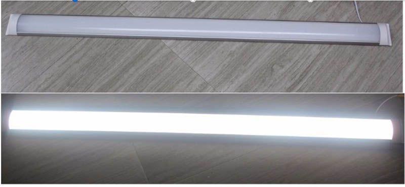 LED 선형 빛 4FT 120cm 1200mm 36W 정제 된 고정물 램프 110V 220V LED 튜브 빛 SMD2835 Batten 튜브 라이트 최고 품질