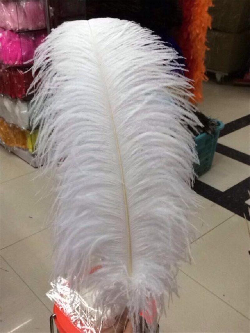 Перо Шлейф Для Свадьбы Центральным Леди Банкетный Танец Элегантность Перо Новые Природные Птицы Перо Высокое Качество Большой Тонкий Белый Оперение