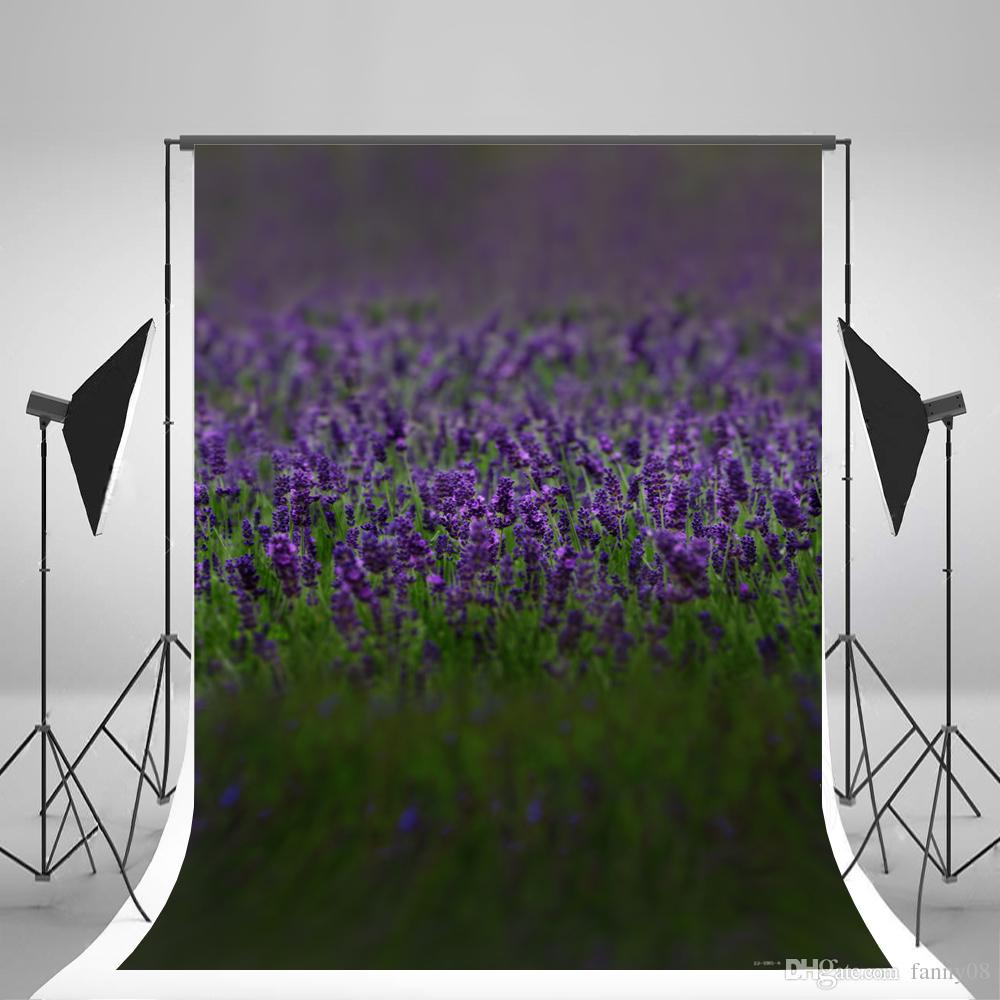 2019 5x7ft150x220cm Baby Photography Background Lavender
