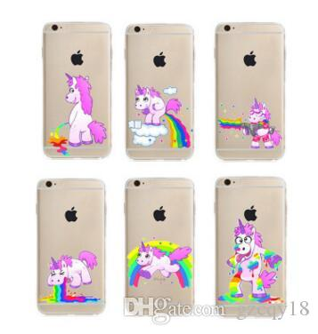 3d iphone 7 case unicorn
