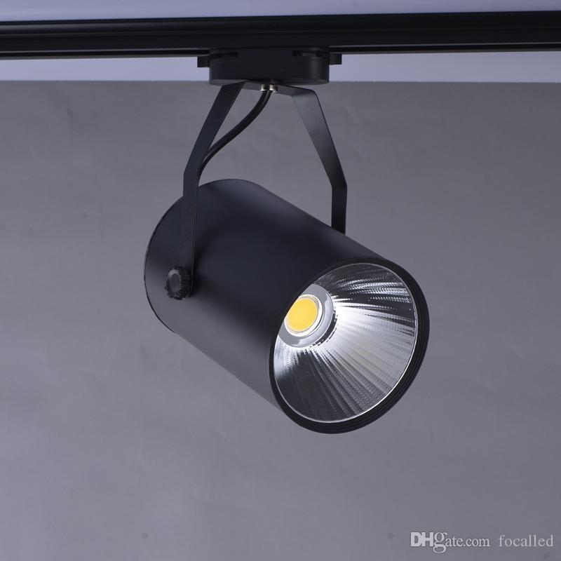 L'illuminazione della pista della PANNOCCHIA LED di 5w 7w 9w 12w può essere regolata Faretti backlights AC75-260v del fondamento del downlights montati CE UL