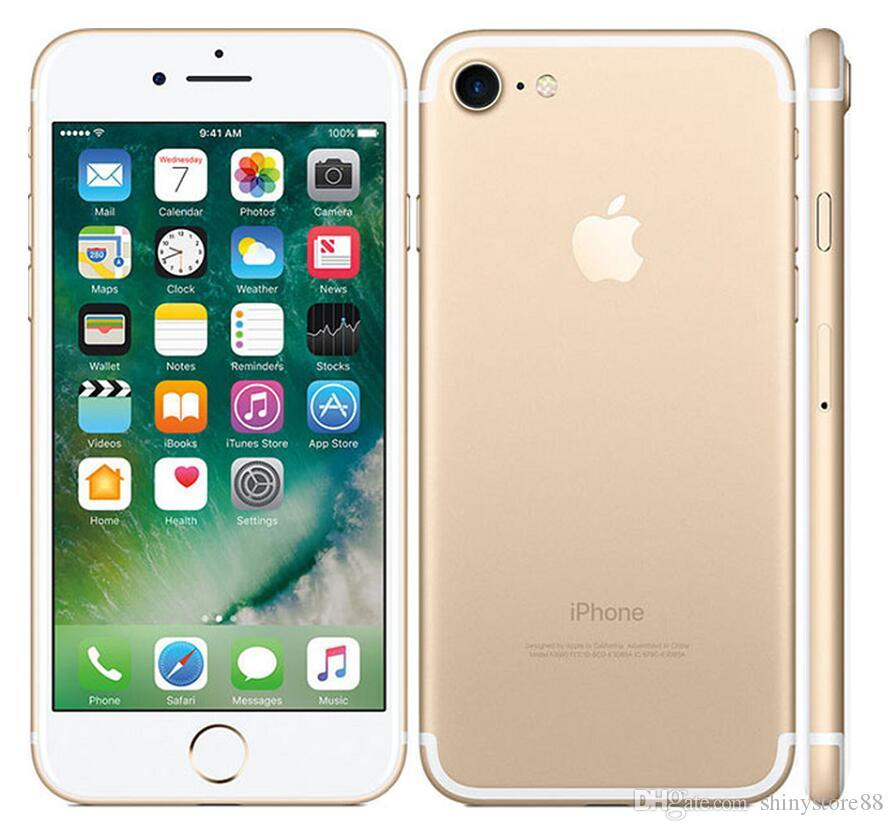 Refurbished Apple iphone 7 7 Plus no touch id 32GB/128GB/256GB ios12 Quad Core 12.0MP Unlocked