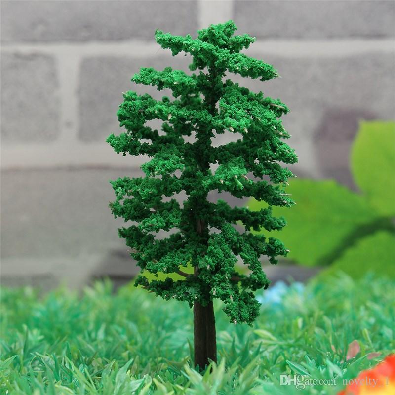 Großhandel Kiwarm Moderne Mini Baum Fee Garten Dekor Miniaturen