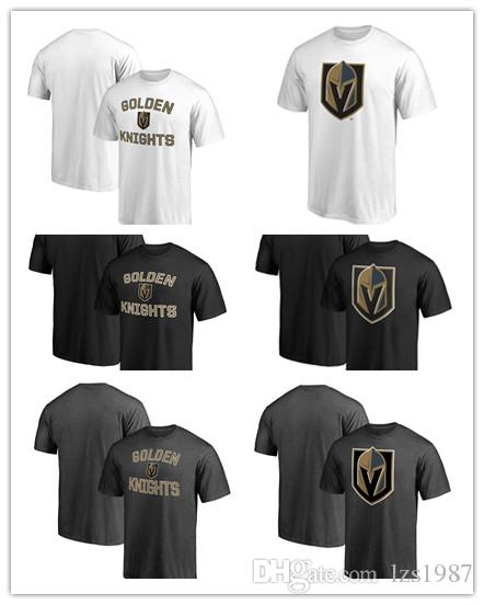 News Menu0027s Ice Hockey T-shirt In Spring And Summer Vegas Golden Knights  Offset Printing With Short Sleeves Offset Printing Free Shipping Vegas  Golden ...