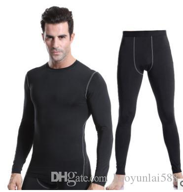 2018 A Man The Compression Garments Quick Dry Sports Fitness High Quality Suit Running Venting Sportswear From Haoyunlai588 2539