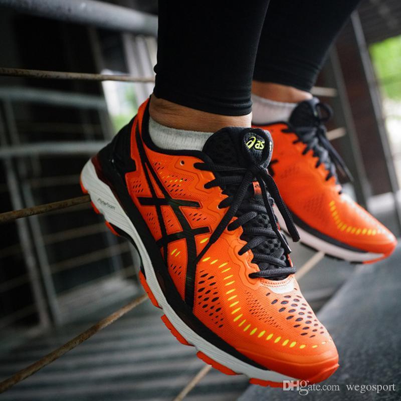 Compre 2018 Preço De Atacado Novo Estilo Asics Gel Kayano 23 Original Tênis  Para Homens Sneakers Botas De Esporte Calçados Esportivos Frete Grátis De  ... 4aad25df68118