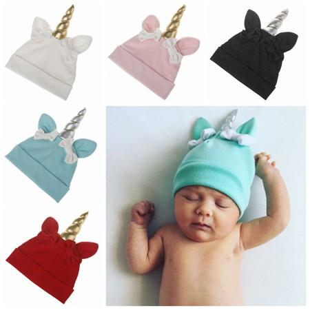 Online Cheap Fall 2017 Toddler Winter Hats Wholesale Baby Unicorn Fashion Hats  Caps Girls Ears Beanie Hats Babies Bonnet Top Hat Baby Photography Props By  ... 2646c671f21