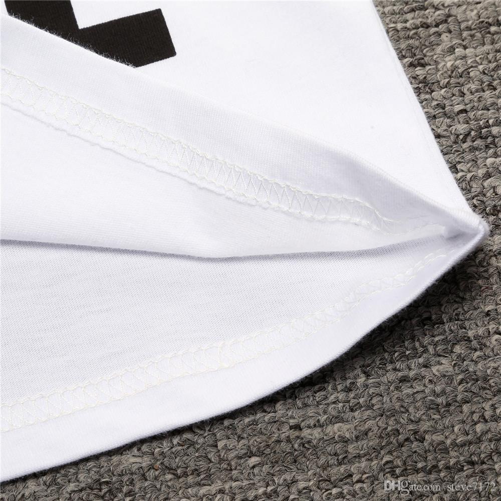 Hooyi Summer Baby Boys Clothing Set White T-Shirt + Long Cross Black Pant Children Suit Cotton Kids Clothes Suit Outfits Fashion Tee Shirts