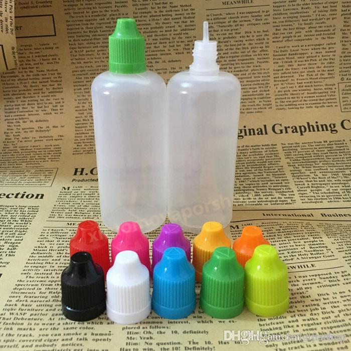 Childproof 모자,e 액체를 위한 빈 점적기 병,눈 점적기 병 e cig 를 가진 뜨거운 판매 100ml 플라스틱 e 액체 병