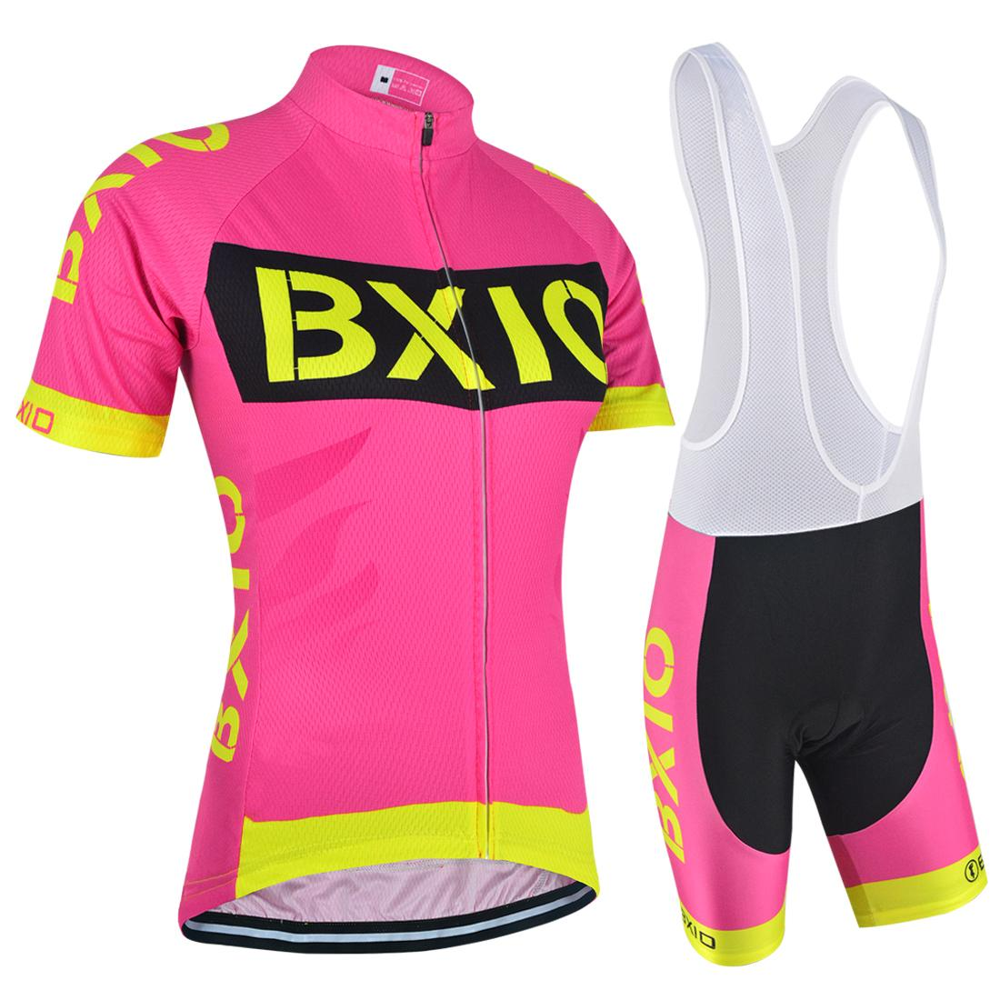 283d856a4a BXIO 2017 New Cycling Jerseys Pink Women Bicycle Clothing Hot Summer  Indispensable Outdoor Sports Bike Clothing Ropa Ciclismo BX 147 Cycling  Bibs Cycling ...