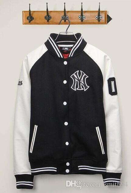 2017 Brand New York Hip Hop Jacket Men Street Fashion Baseball ...
