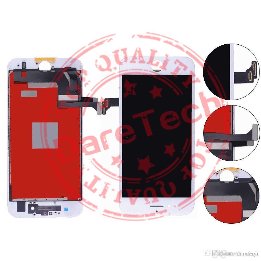 آيفون 7/7 زائد شاشة LCD عالية الجودة اللمس لوحات شاشة محول الأرقام كاملة إصلاح أجزاء 2 ألوان رغوة حزمة