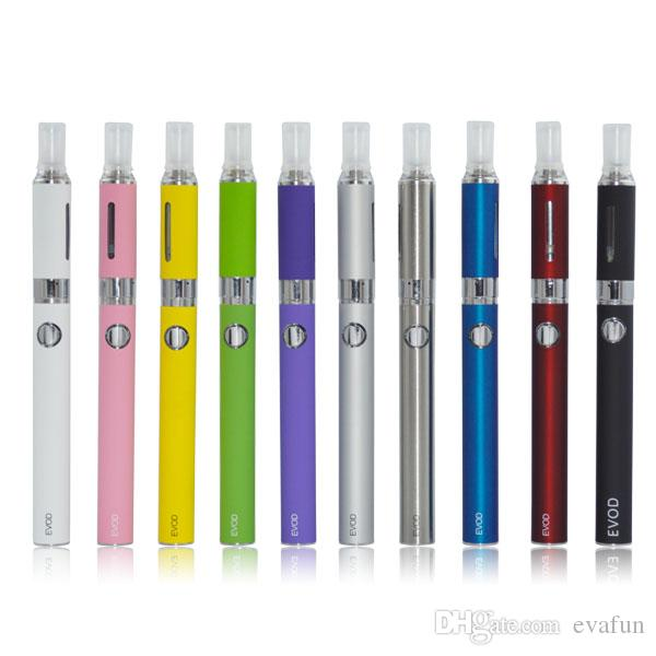 Evod MT3 Blister Kit Électronique Cigarettes Vaporisateur Vape Stylo MT3 Atomiseur 650 900 1100mAh Evod Batterie Électronique Cigarettes Vape Pen