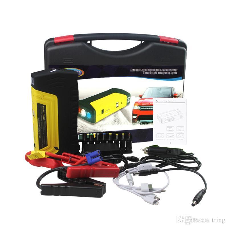 high quality 50800mah 12v portable mini jump starter car jumper booster power battery charger. Black Bedroom Furniture Sets. Home Design Ideas