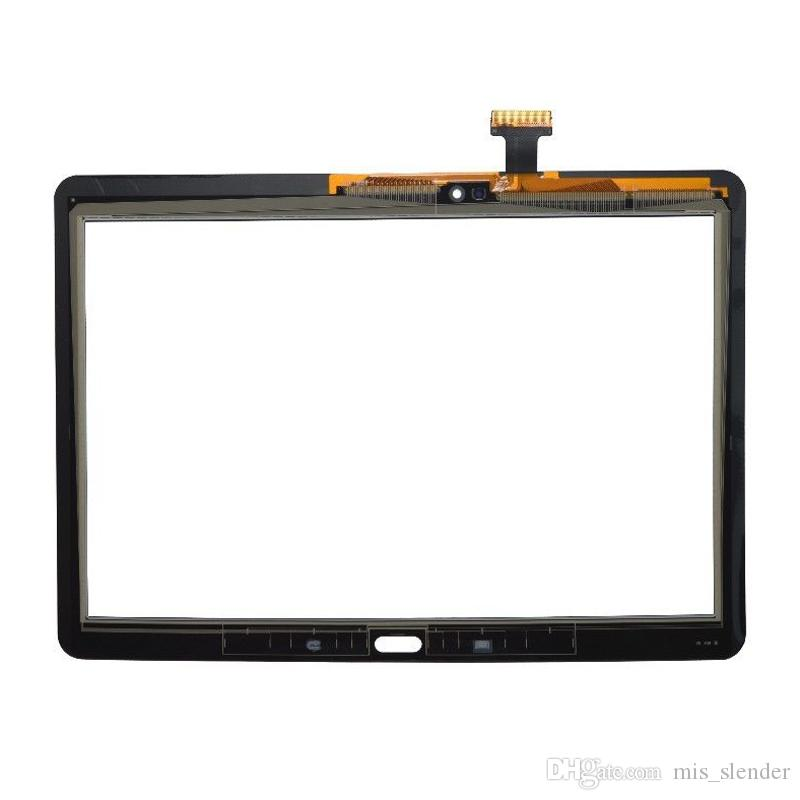 Tested Black White For Samsung Galaxy Note 10.1 2014 Edition P600 P601 P605 Touch Screen Digitizer Panel Outer Glass Sensor DHL Free