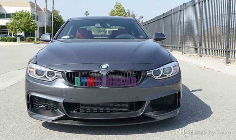 P стиль 3K FRP передний бампер Губа спойлер F32 F33 F36 MTECH подходит для BMW