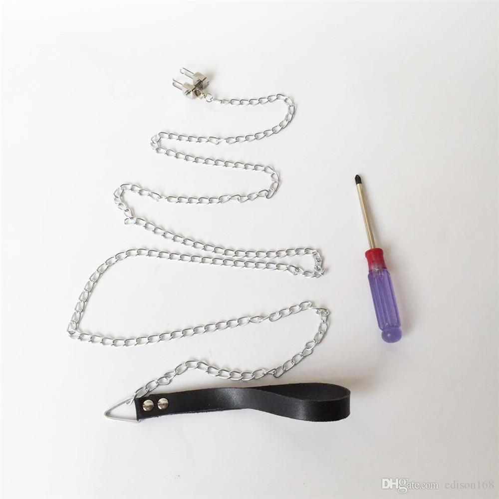 2017 여성 스테인레스 스틸 코 후크 본디지 기어 노 슬리브 조련사가있는 족쇄 클램프 클립 BDSM 여성을위한 성 장난감