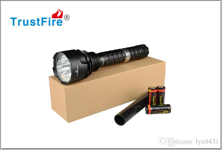 LED Lamp Powerful LED Flashlight CREE T6 26650 Rechargeable Battery Torchlight Tail Switch 5 Modes Aluminum Alloy Flash Light Camping Torch