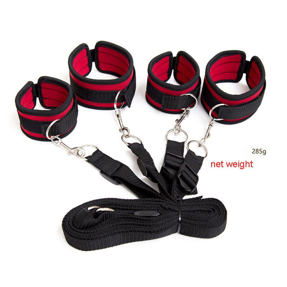 Bdsm Bondage Furniture Nylon Sponge Rope Under Bed Restraints Tools With  Handcuffs Sex Toys For Couples With Adjustable Strap Bondage Instruments  Bondage ...