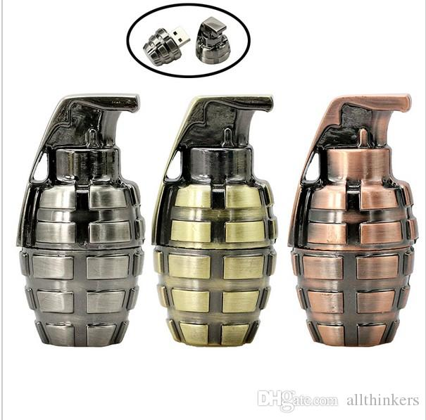 Hand grenade thumb drive