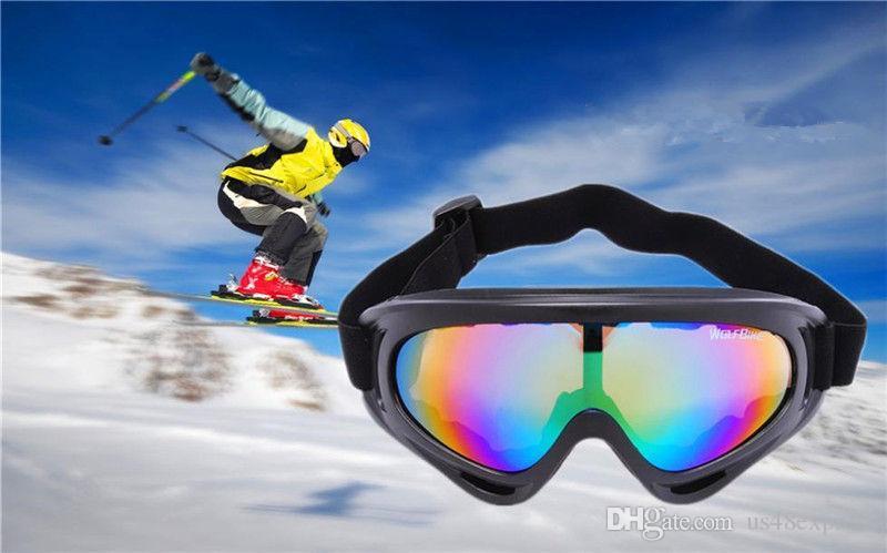 2019X400 UV Koruma Açık Spor Kayak Snowboard Paten Gözlük Motosiklet Off-Road Bisiklet Gözlüğü Gözlük Gözlük Lens Motor Güneş Gözlüğü