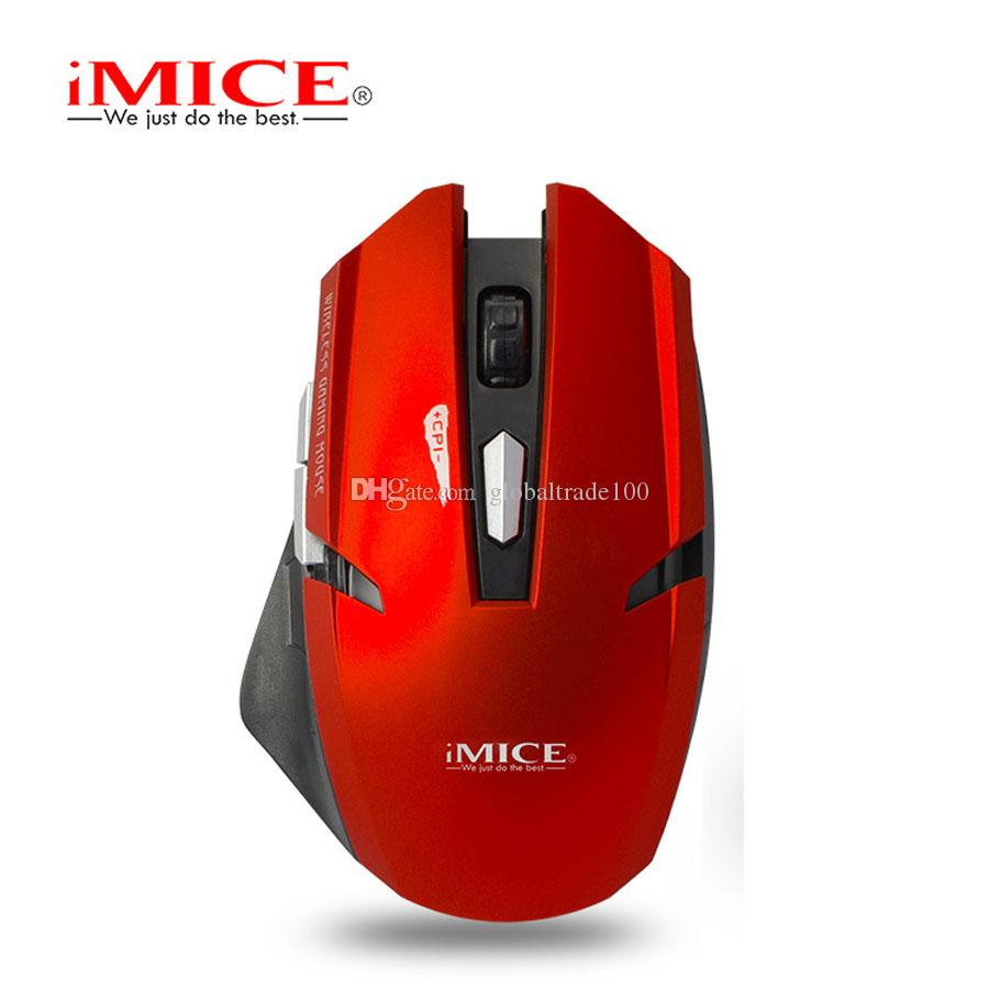 iMice E-1700 Wireless Optical Gaming Mouse USB Computer Mouse With 2.4G Receiver 6 Buttons Mice Retail Package