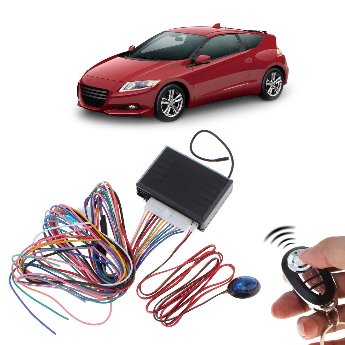 Car Alarm Systems Auto Remote Central Kit Door Lock Vehicle 12V Keyless Entry System with Remote Control CAL_107