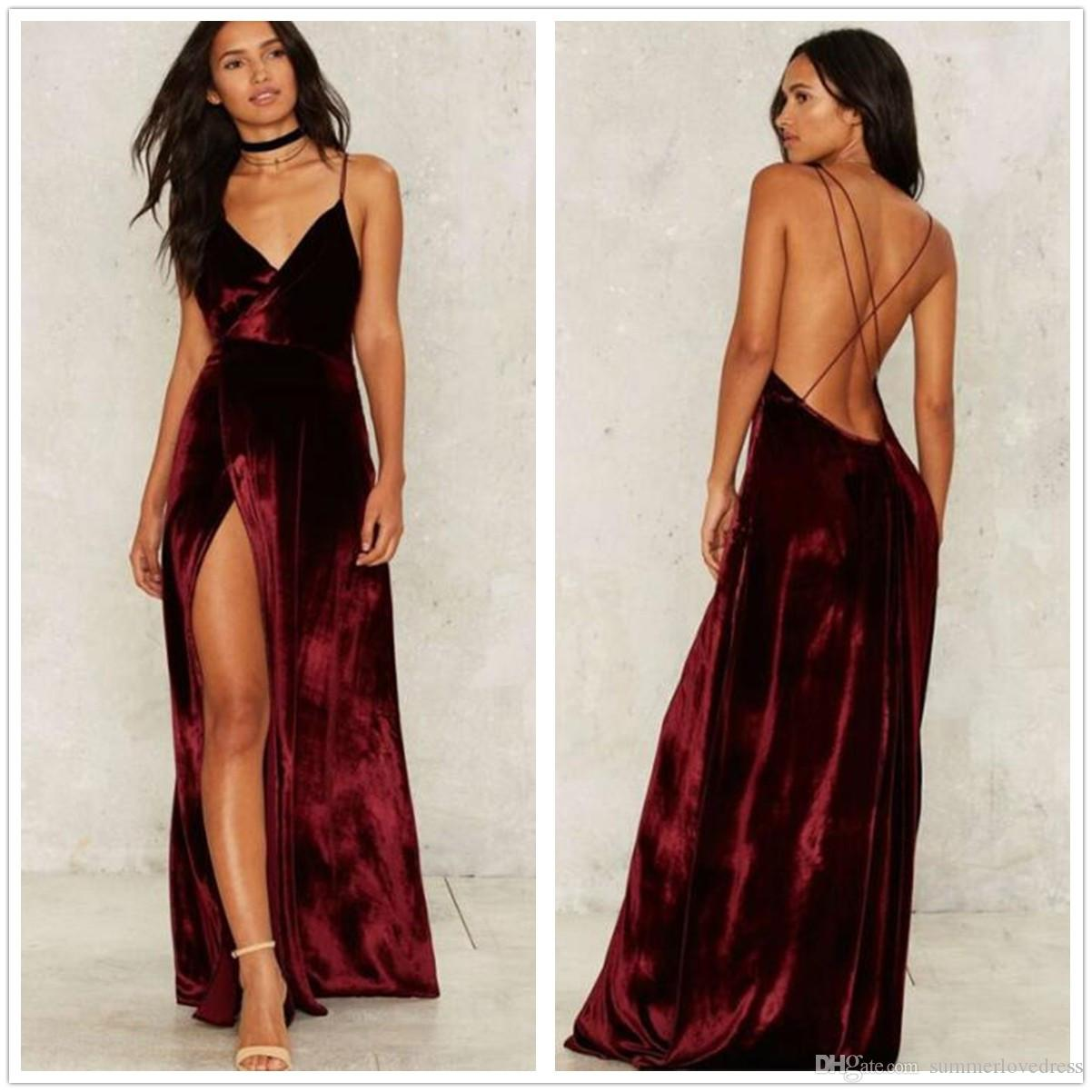 Sexy floor length dress