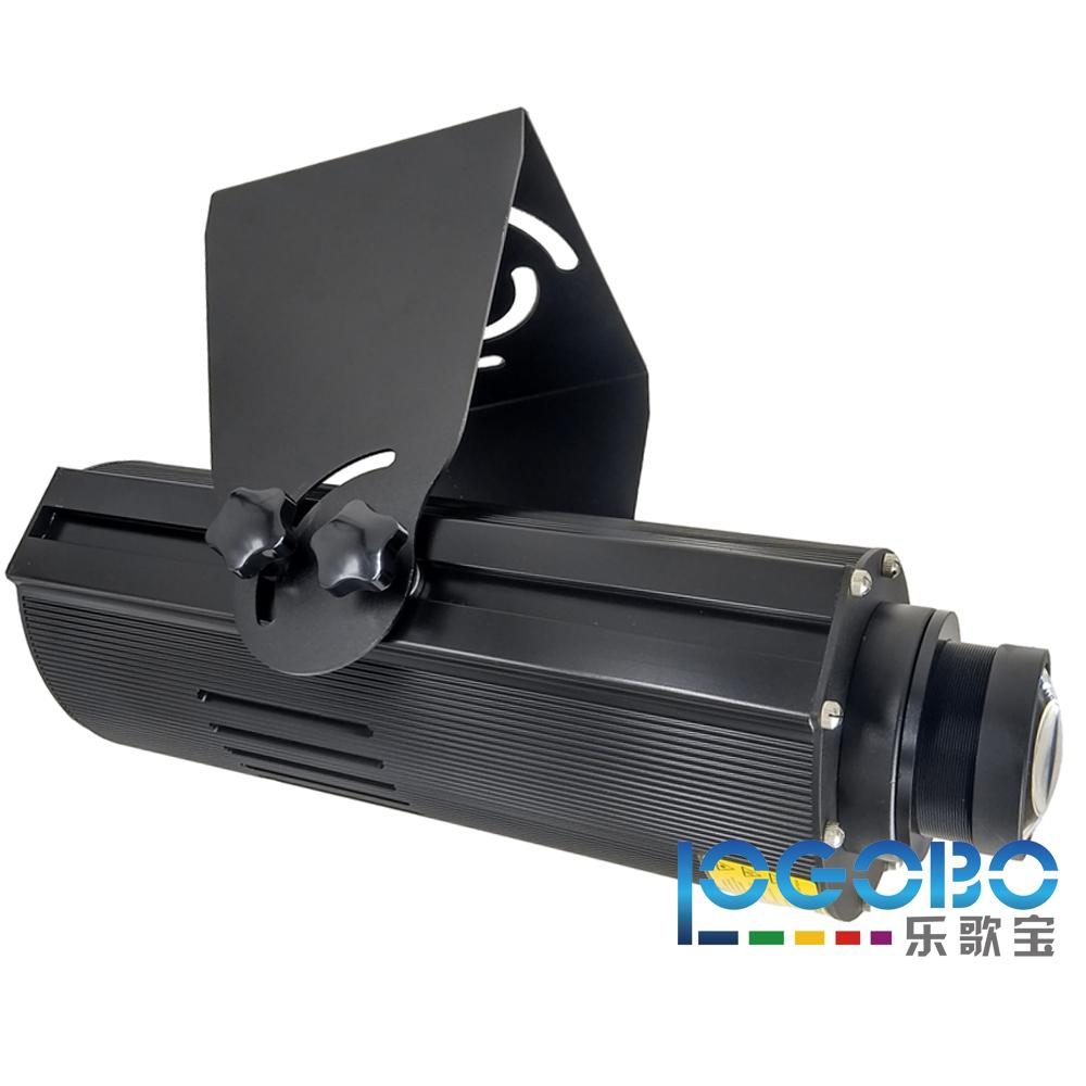 LOGOBO 8500 Lumens Projector Gobo Light 100W Led Outdoor Projected Light Signs Gobo Custom Logo on Building Walls for Comercial in Theatre
