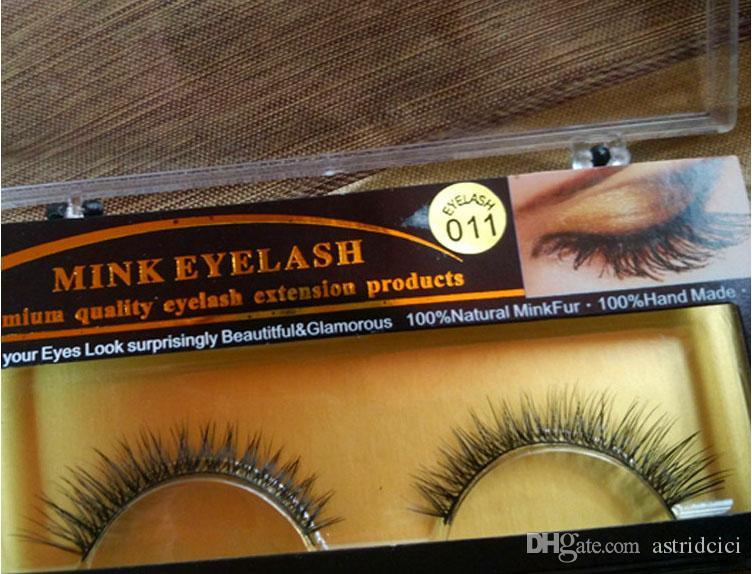 Handmade False Eyelashes Mink Natural Realistic Messy End Eye Elongated Thick False Eyelashes False Eyelashes Mink Eyelash