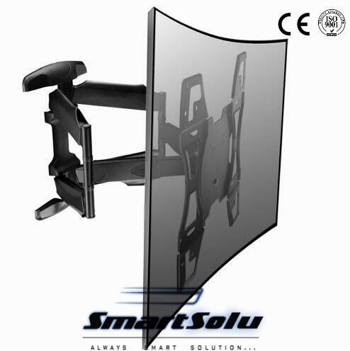 2018 New Design 32 37 42 46 55 Retractable Tv Wall Mount Rotation Wall Mount  Lcd Tv Bracket From Smartpneumatic, $124.6 | Dhgate.Com
