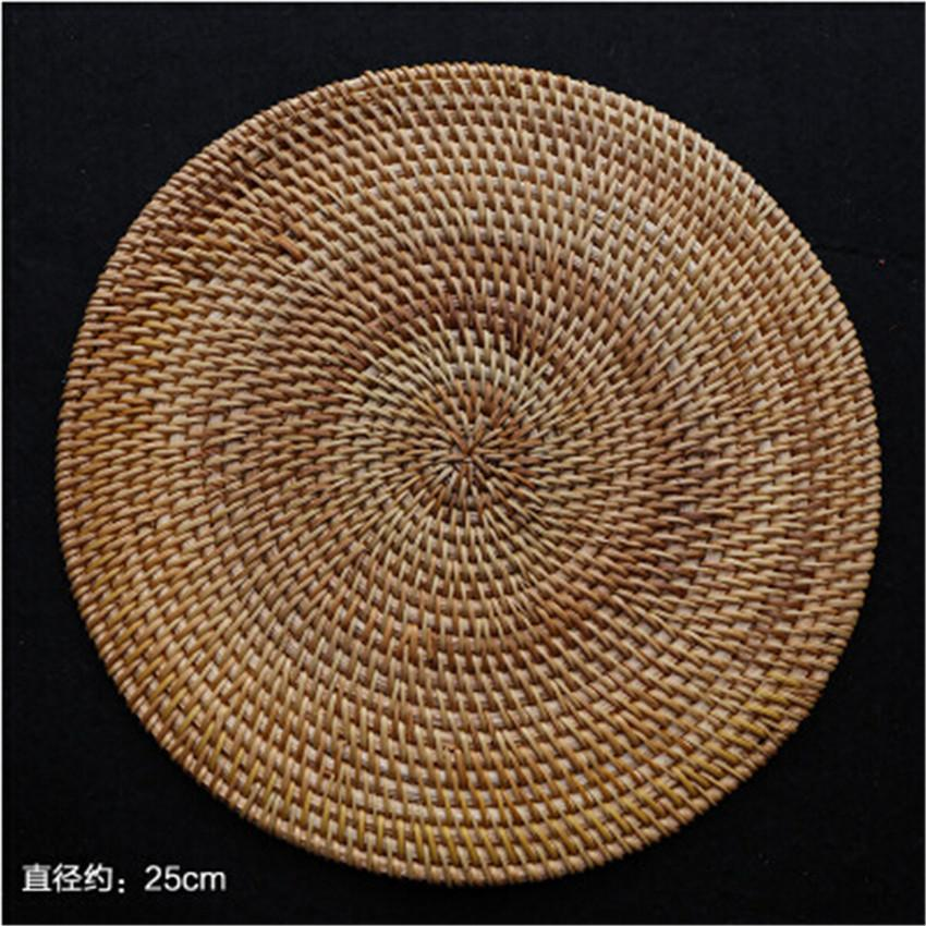 2018 Whole Rattan An Style Bowl Coaster Table Mats Placemats Dining Kitchen Bars Restaurant Pads From Hilery 35 49 Dhgate Com