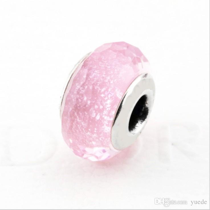 بيع المجوهرات الجميلة حجية 925 فضة سحر سوار قلادة diy 12 لون الخرز صالح باندورا لفتاة هدية عيد