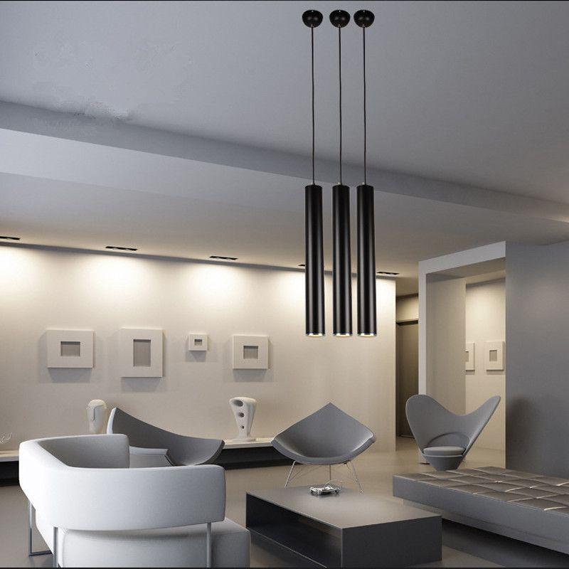 Pendant Lamp Lights Kitchen Island Dining Living Room Shop Decoration,  Cylinder Pipe Pendant Lights Kitchen Light Green Pendant Lights Grey Pendant  Light ...
