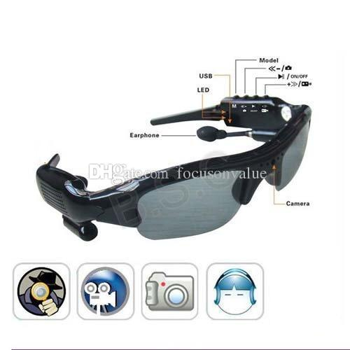 b081d078c6 2019 Sunglasses Camera With Bluetooth   MP3 Player Popular Glasses Digital  Video Recoder Portable Security Mini Camcorder Mini Sunglasses DVR From ...
