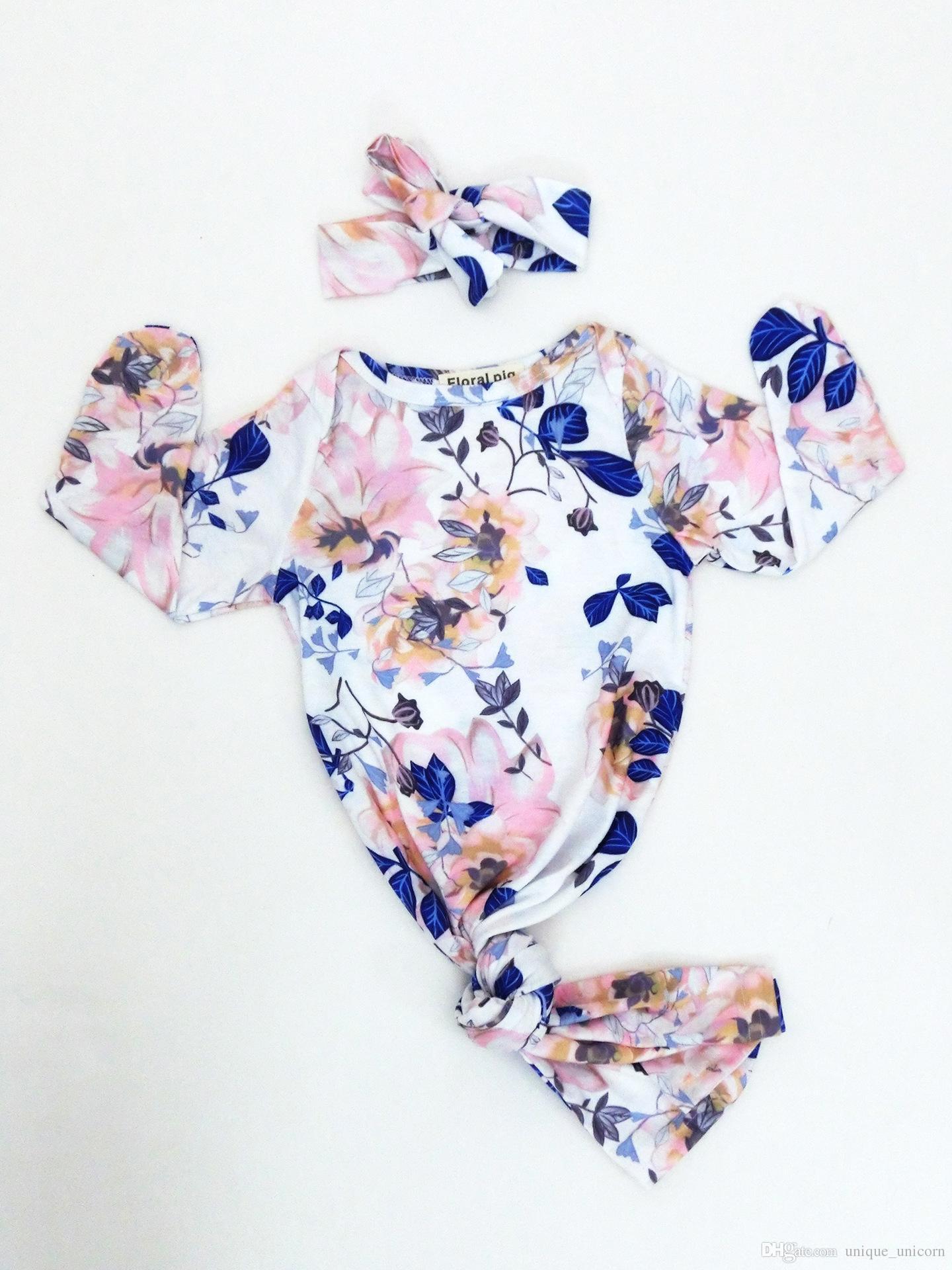 Bebek mavi çiçek noel için uyku tulumu fotoğraf bebek battaniye hediye setleri ile denizkızı şekil wrap kundak kafa bandı