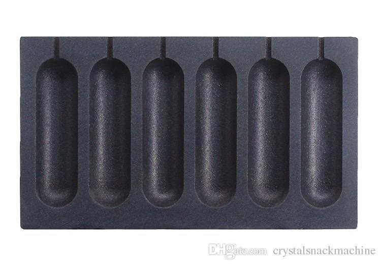 Handelswaffelstockhersteller-Lutschbonbonwaffelherstellerhotdogwaffelmaschinenbäckerei-Stockofen-Edelstahl