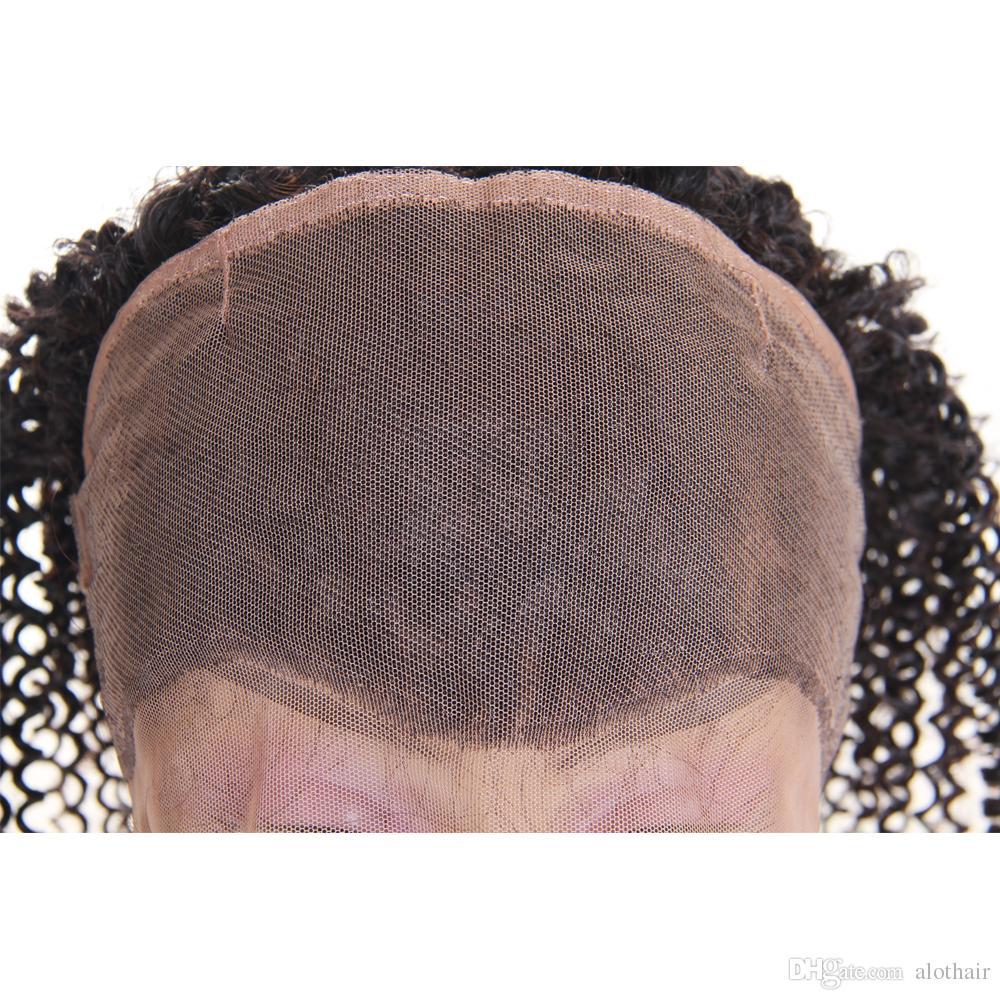 360 Demetleri Ile Dantel Frontal Kinky Kıvırcık Kapatma Ile 360 Dantel Frontal Kapatma Ile Brezilyalı Saç 360 Kapatma Kıvırcık Saç Demetleri